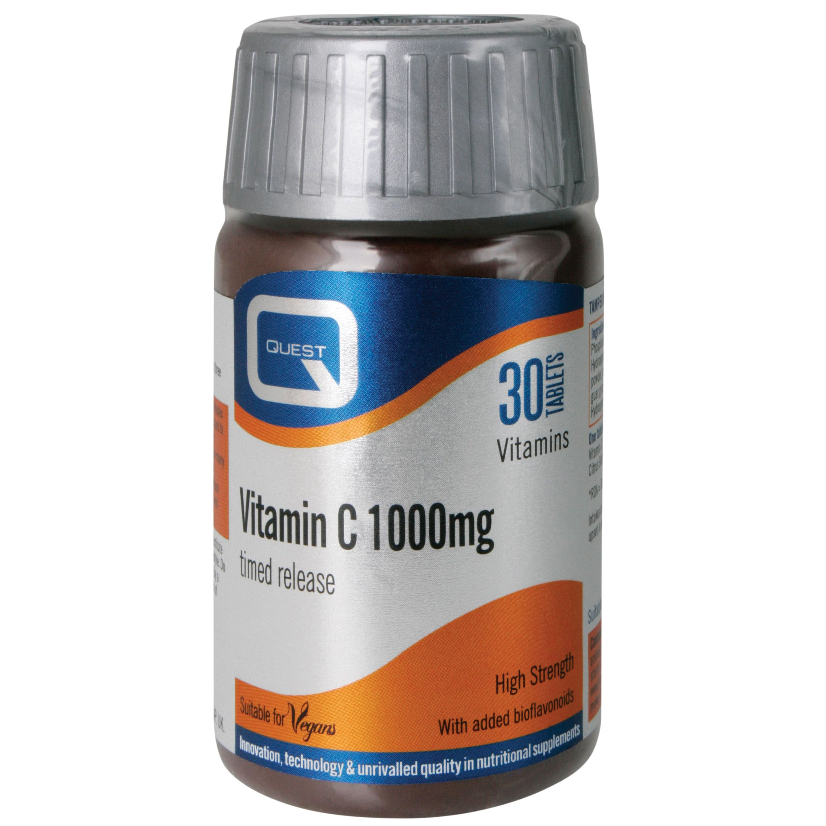 Quest Vitamin C 1000mg – Timed Released, 30 tabs