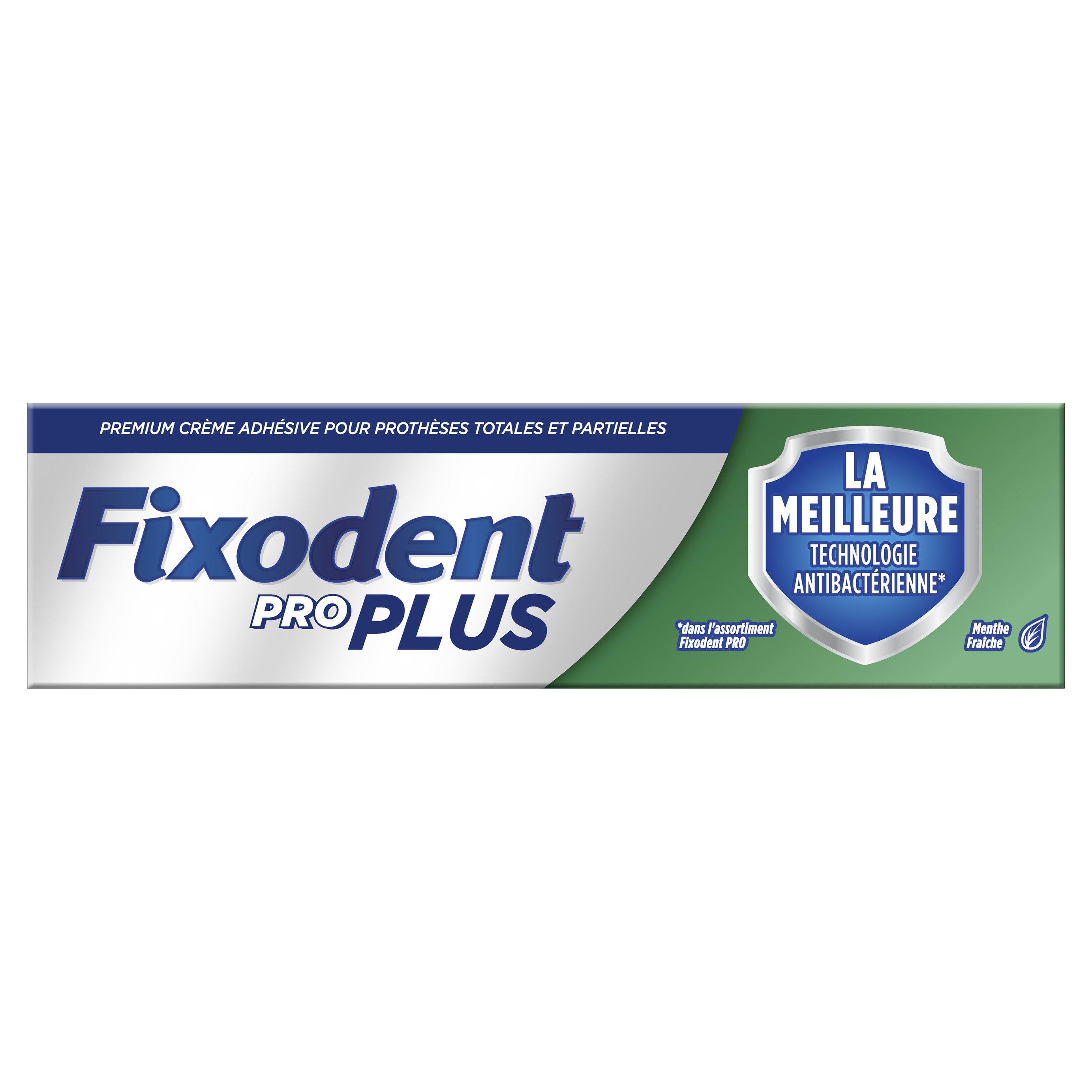 Fixodent Dual Protection Pro Plus Στερεωτική Κρέμα για Τεχνητή Οδοντοστοιχία 40g