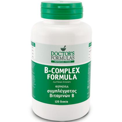 Doctor's Formulas B-Complex Formula Φόρμουλα του Συμπλέγματος Β 120tabs