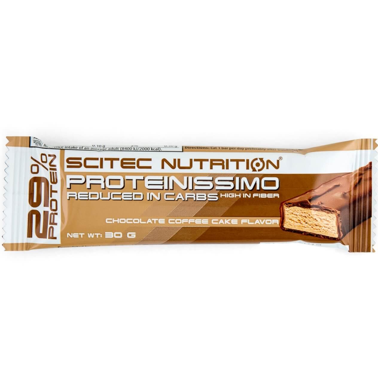 Scitec Nutrition Proteinissimo Bar Μπάρα Πρωτεΐνης με Γεύση Chocolate Coffee Cake 30gr 24234