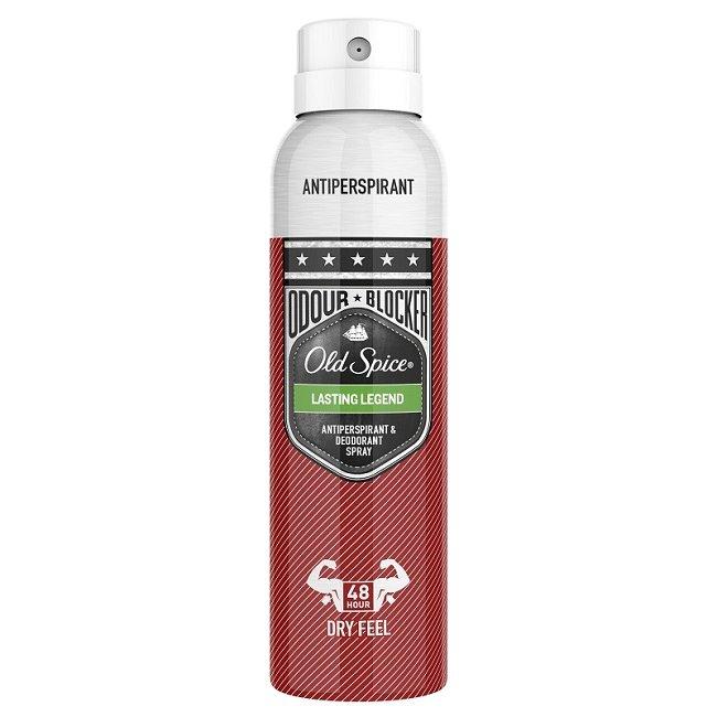 Old Spice Antiperpirant Spray Lasting Legend Αντιιδρωτικό & Αποσμητικό Spray για Άνδρες 150ml