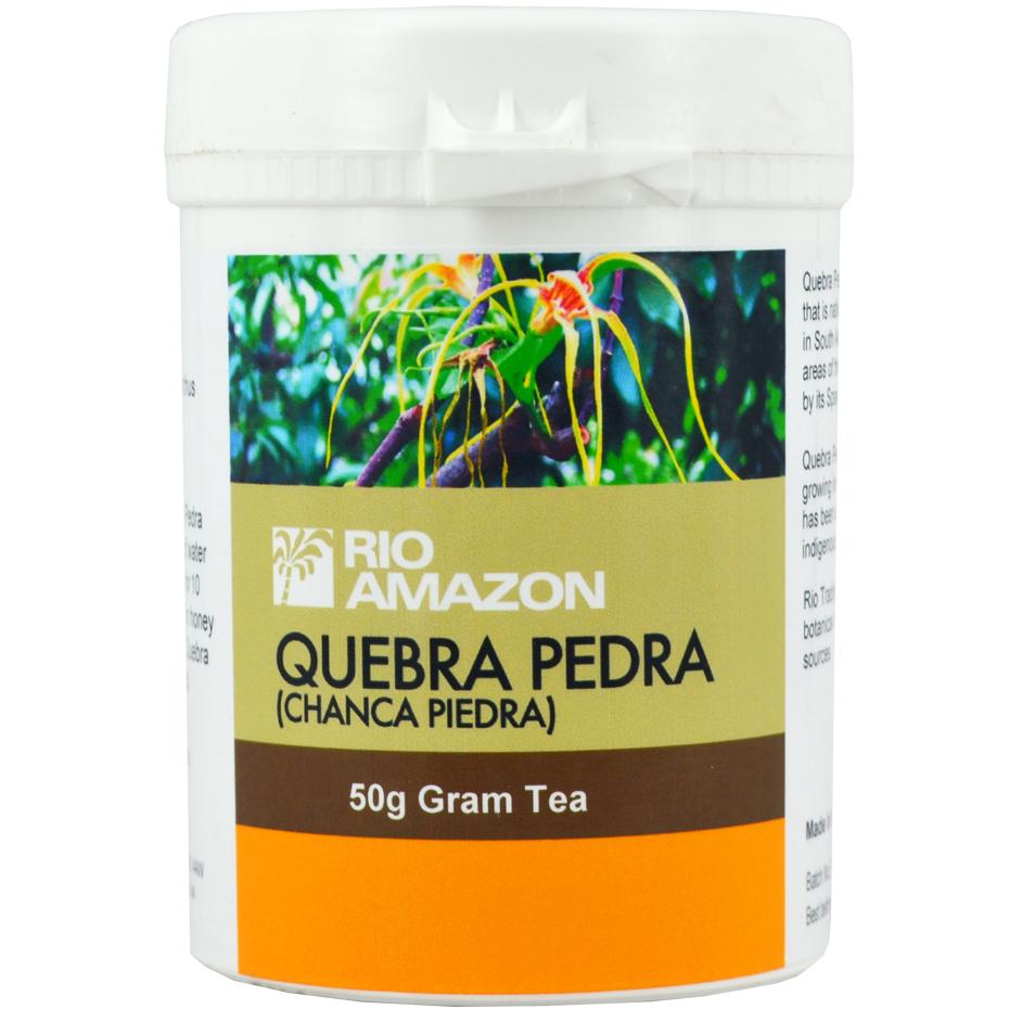 Rio Quebra Pedra Tea Σκόνη Τσαγιού με Εκχύλισμα του Φυτού Quebra Pedra 50gr
