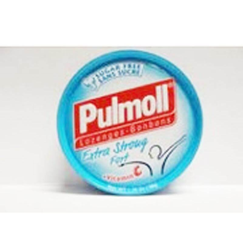 Pulmoll Καραμέλες με πολύ δυνατή Γεύση