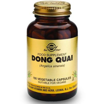 Solgar Dong Quai Συμπλήρωμα ΔιατροφήςΚατάλληλο σε Περιπτώσεις Προεμμηνορυσιακής Έντασης100 veg.caps
