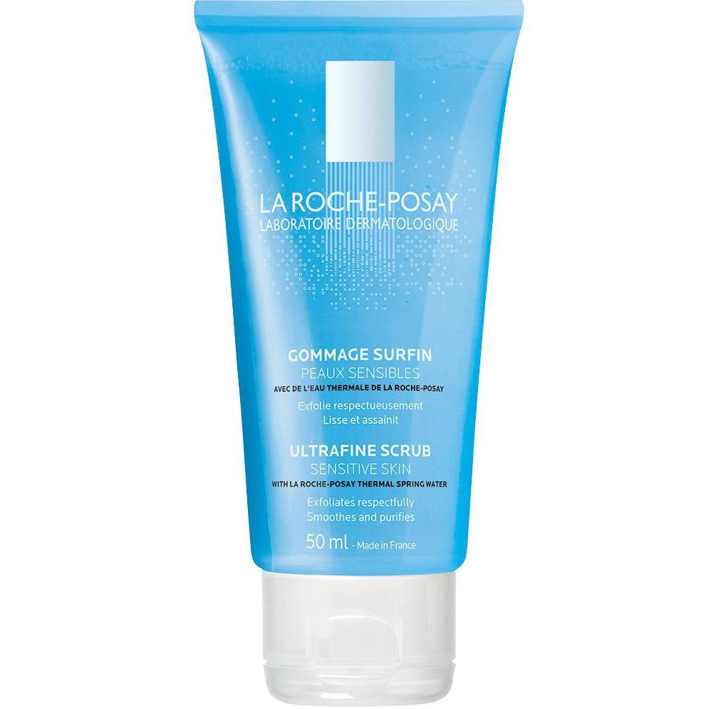 La Roche-Posay Ultra Fine Scrub Sensitive Skin Καθαρίζει Απαλά & Καταπραΰνει την Ευαίσθητη Επιδερμίδα 50ml
