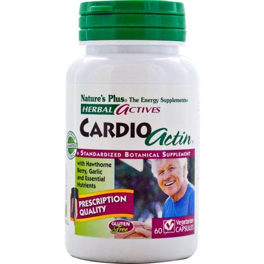 Natures PlusCardio ActinΣυμπλήρωμα Διατροφής για την ΥποστήριξητηςΚαλής Λειτουργίας της Καρδιάς 60caps