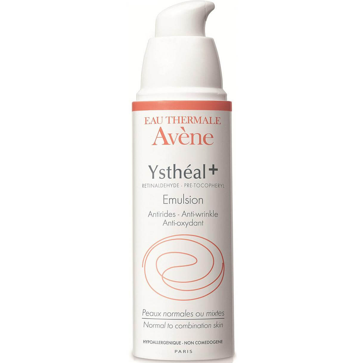 Avene Ystheal Emulsion Λεπτόρρευστο Γαλάκτωμα με Ο.G.G. για τις Πρώτες Ρυτίδες & Λάμψη 30ml