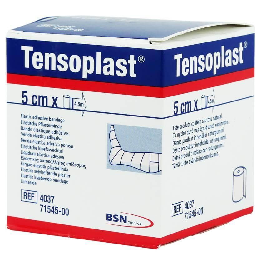 BSN Medical Tensoplast Ελαστικός Αυτοκόλλητος Επίδεσμος 5cm x 4,5m
