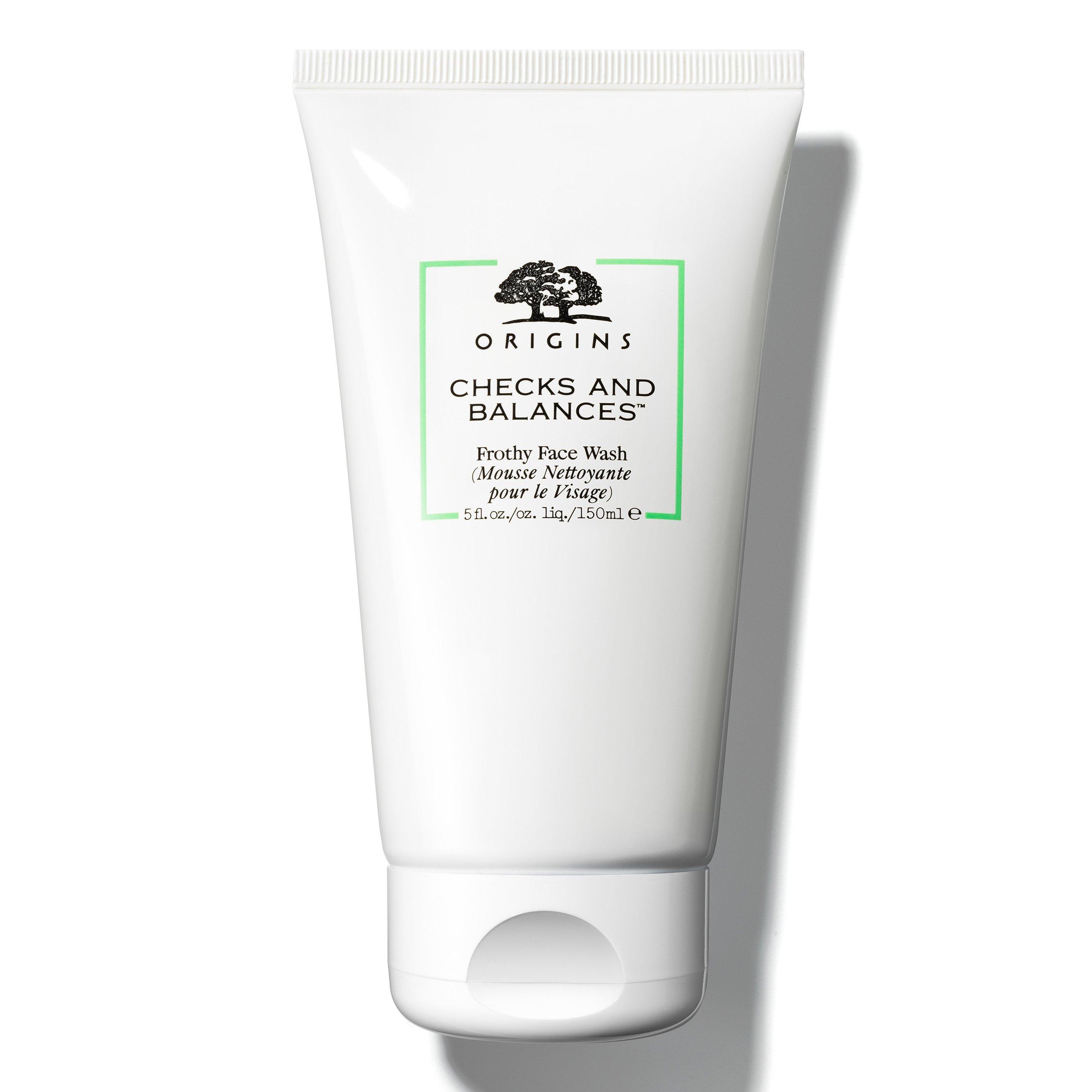 Origins Checks And Balances Frothy Face Wash Απαλό, Αφρώδες Καθαριστικό Προσώπου για Αίσθηση Φρεσκάδας 150ml