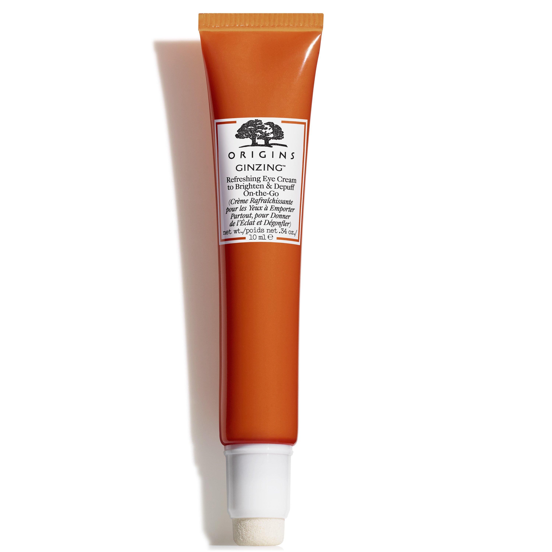 Origins Ginzing Refreshing Eye Cream To Brighten & Depuff On-The-Go Δροσιστική Κρέμα Ματιών Λάμψης & Αποσυμφόρησης 10ml
