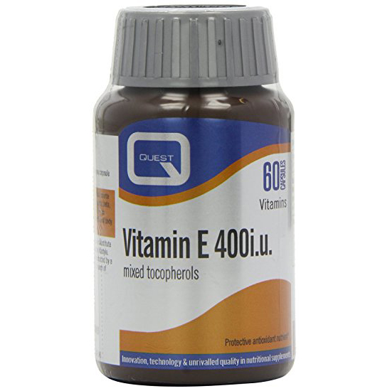Quest Vitamins Vitamin E 400iu Mixed Tocopherols Φυσική Πηγή Βιταμίνης E 60caps