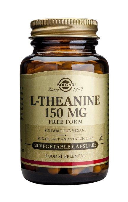Solgar L-Theanine Συμπλήρωμα Διατροφής για τη Καλή Διάθεση και τη Συναισθηματική Σταθερότητα150mg veg.caps – 60 caps