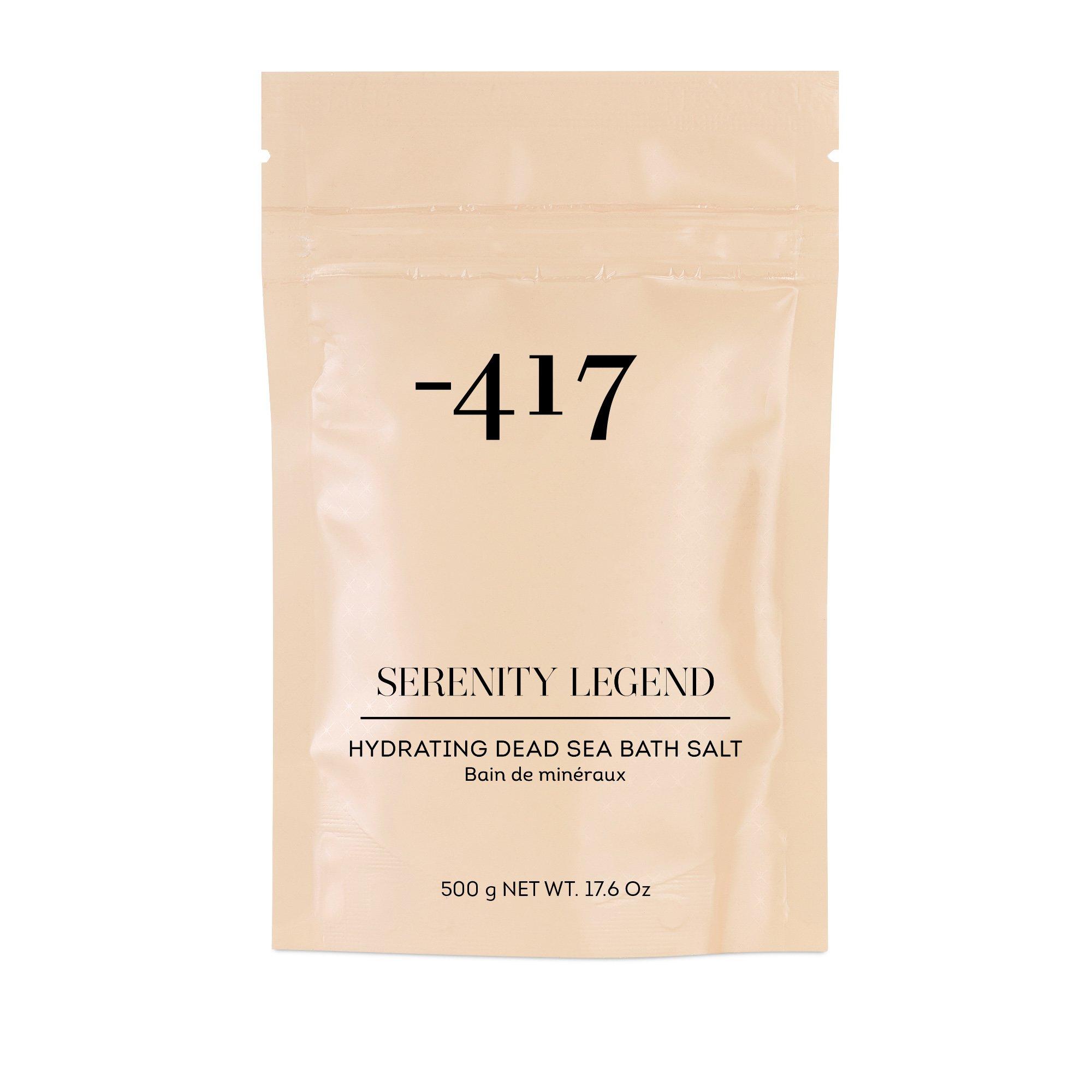Minus 417 Serenity Legend Hydrating Dead Sea Bath Salt Άλατα για Χαλαρωτικό & Περιποιητικό Μπάνιο 500gr
