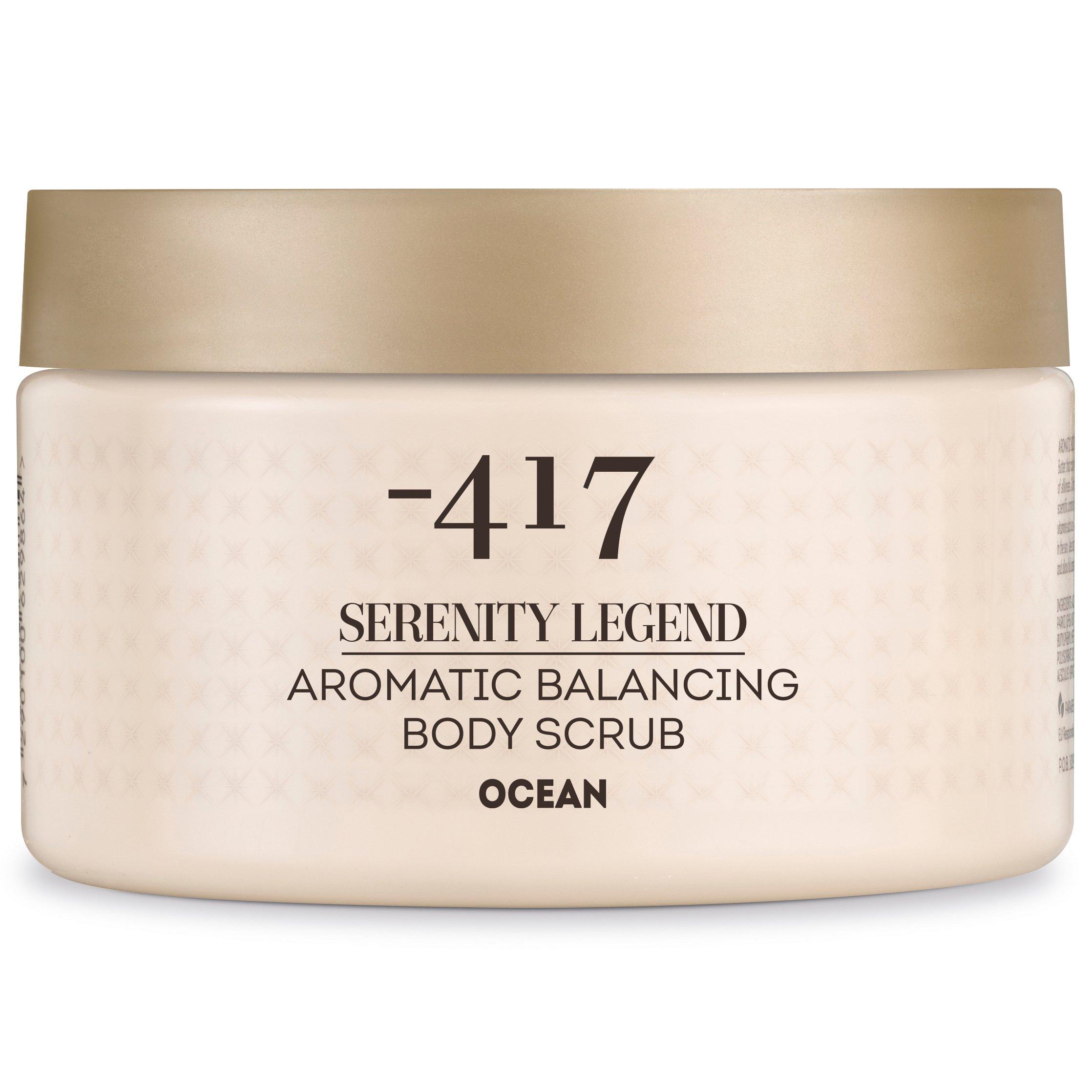 Minus 417 Serenity Legend Aromatic Balancing Body Scrub Ocean Απαλό Αρωματικό Scrub Σώματος 450gr