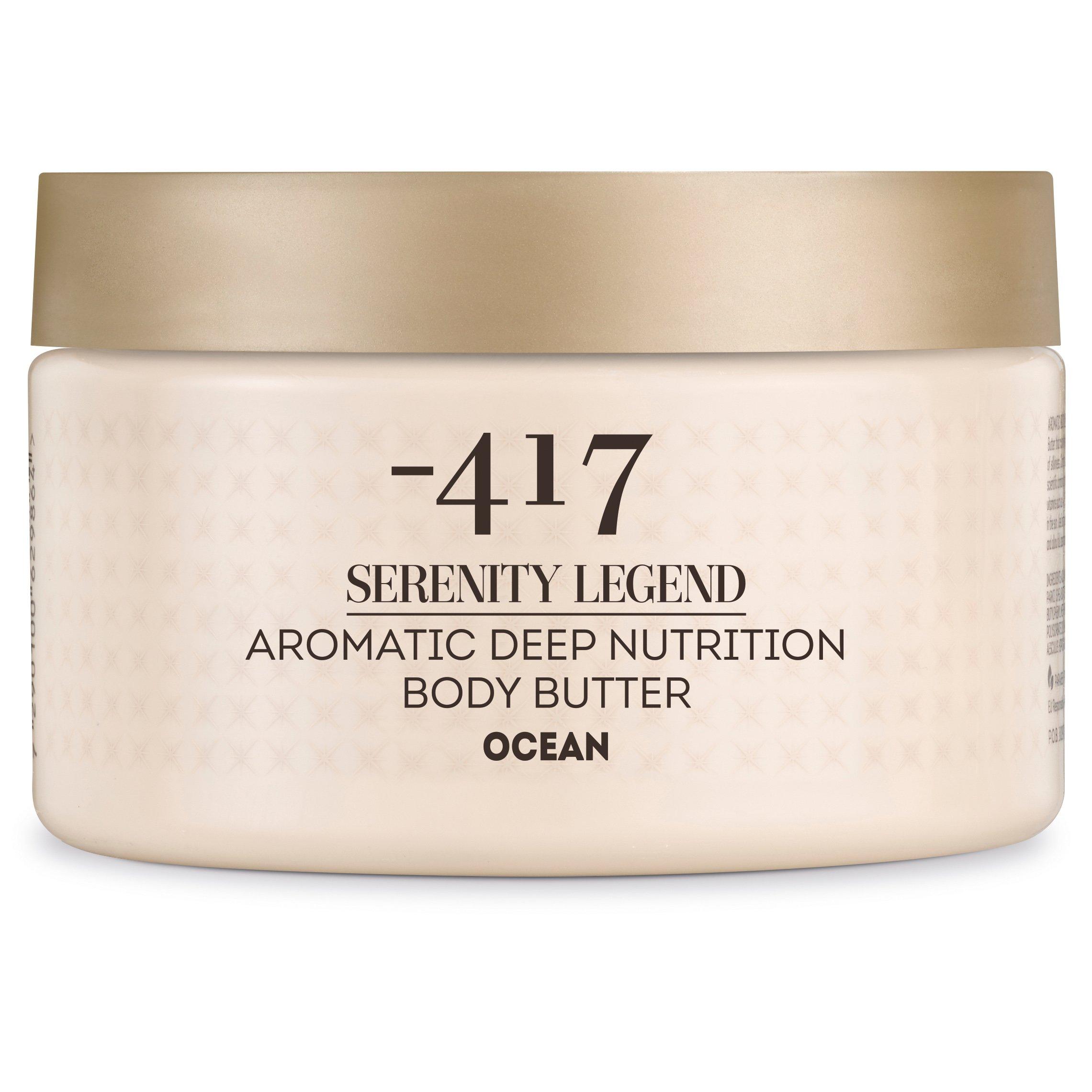 Minus 417 Serenity Legend Aromatic Deep Nutrition Body Butter Ocean Απαλή Αρωματική Πλούσια Υπερθρεπτική Κρέμα Σώματος 250ml