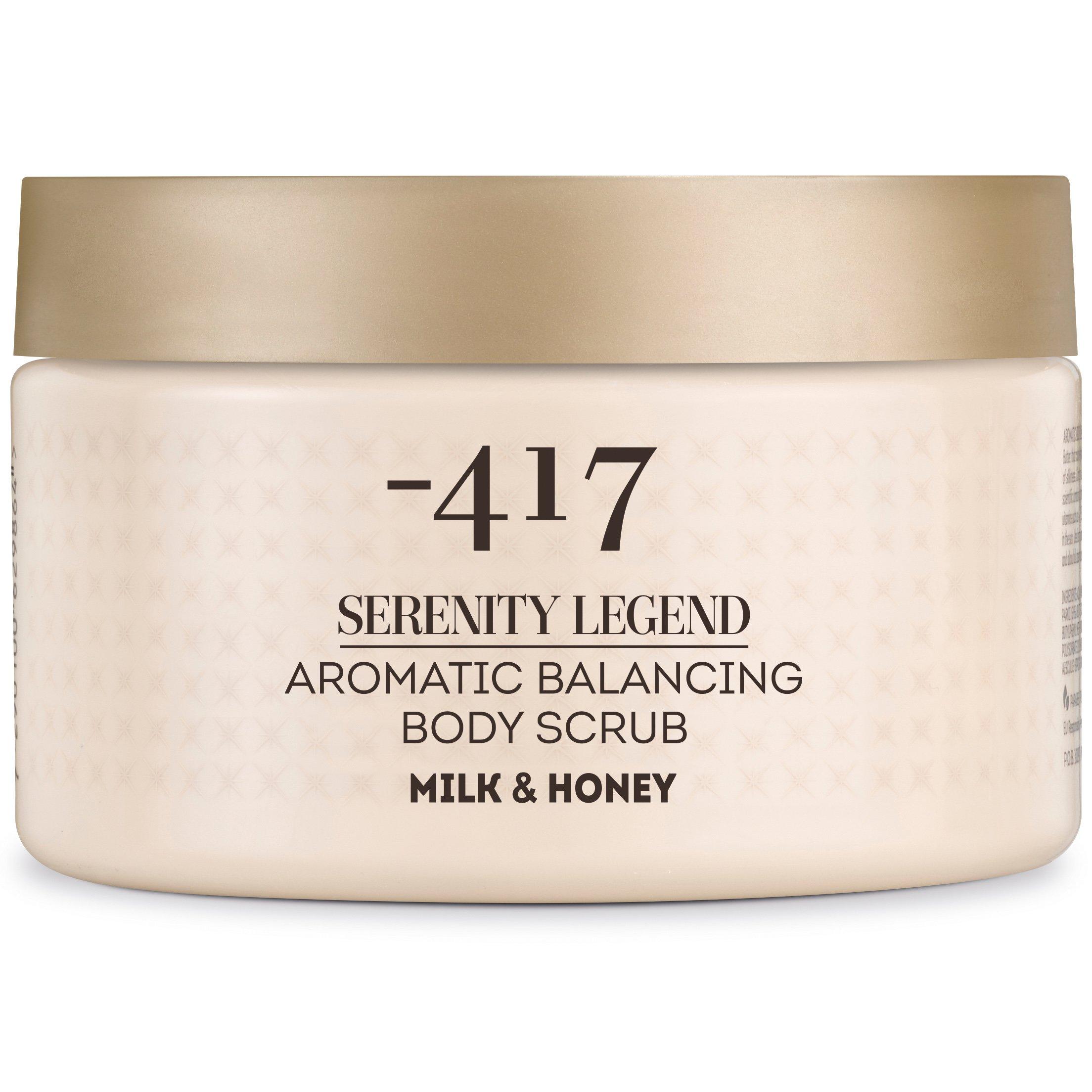Minus 417 Serenity Legend Aromatic Balancing Body Scrub Milk Honey Απαλό Αρωματικό Scrub Σώματος 450gr