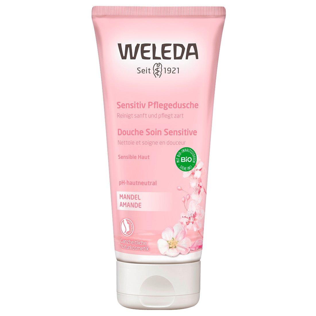 Weleda Sensitive Body Wash Κρεμοντούς με Αμύγδαλο για Ευαίσθητο Δέρμα με Ουδέτερο pH 200ml