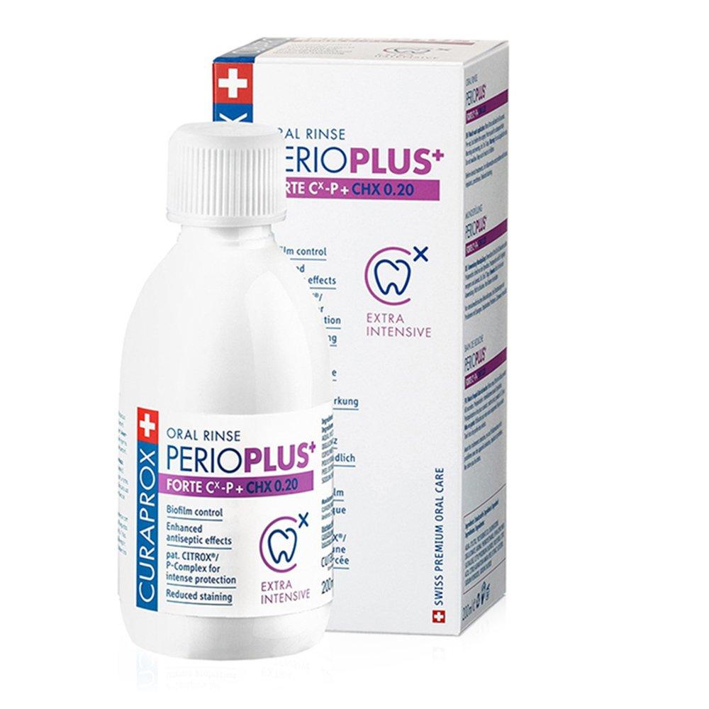 Curaprox Perio Plus Fortre CHX 0.20 Στοματικό Διάλυμα για την Καταπολέμηση της Συσσώρευση της Πλάκας 200ml