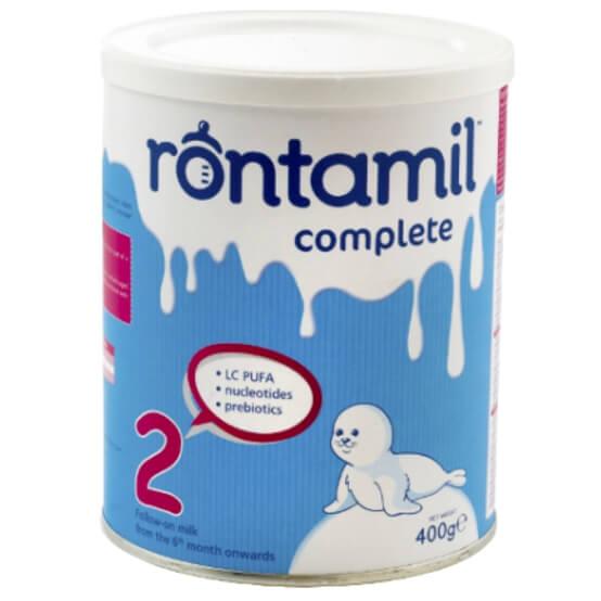 Rontamil Complete 2 Γάλα σε Σκόνη Από τον 6ο Μήνα 400gr