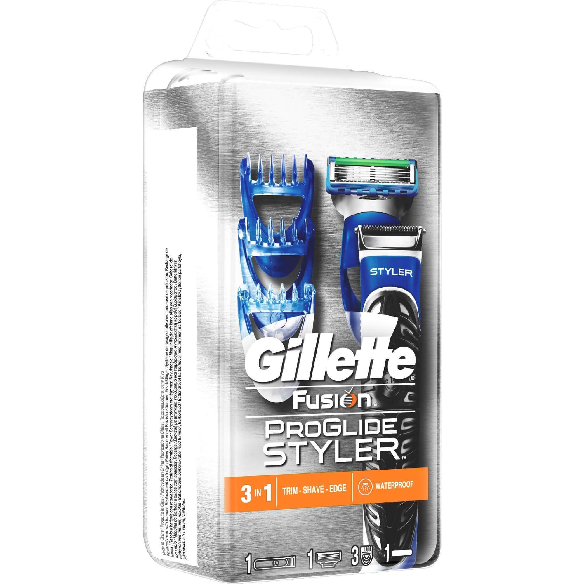 Gillette Fusion Proglide Styler Ξυριστικό Σύστημα (μηχανή + 1 Ανταλλακτικό) ομορφιά   ανδρική φροντίδα προσώπου   σώματος   ξύρισμα άνδρας