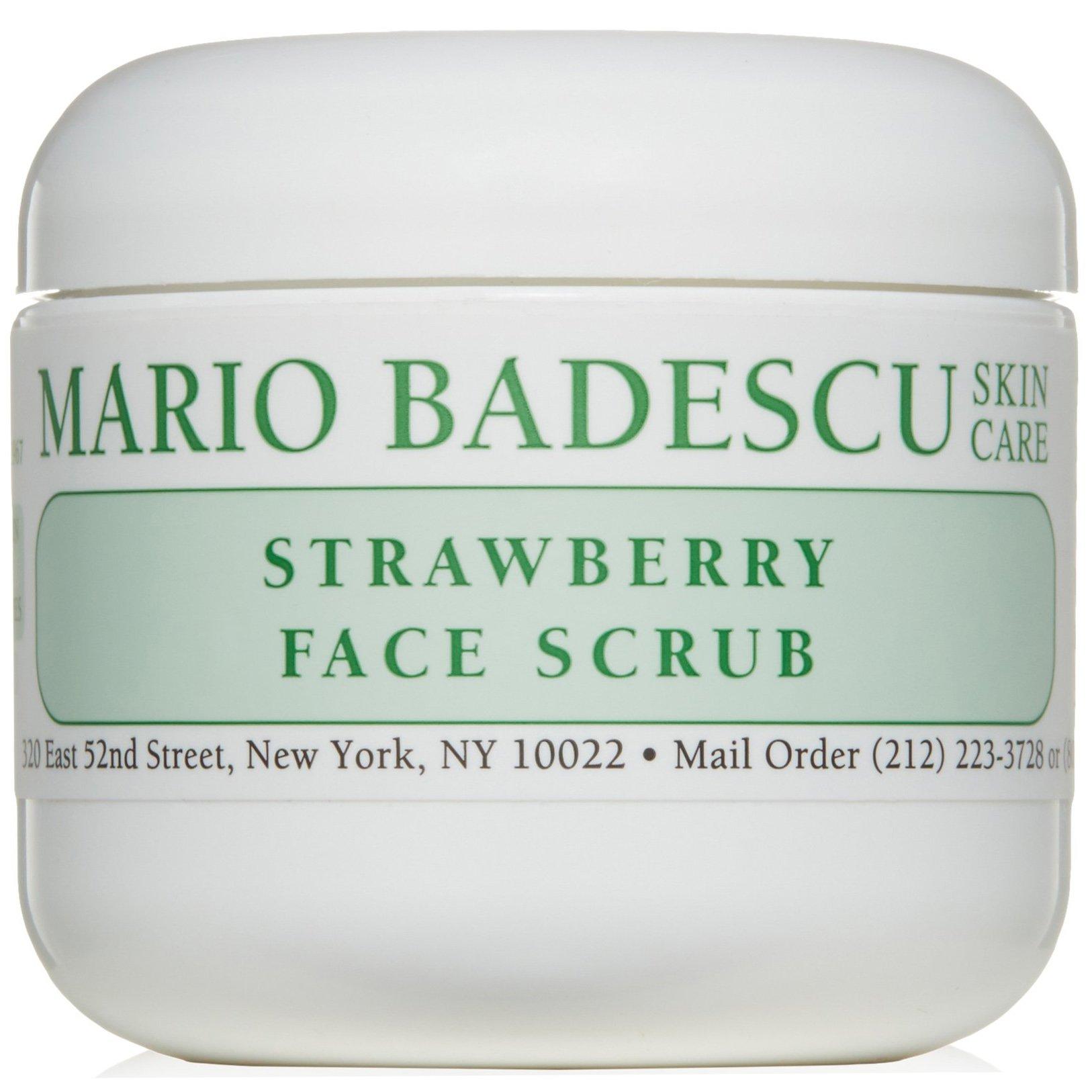 Mario Badescu Strawberry Face Scrub Απολαυστικό Scrub για Απαλό & Φωτεινό Αποτέλεσμα, Όλοι οι Τύποι Επιδερμίδας 118ml