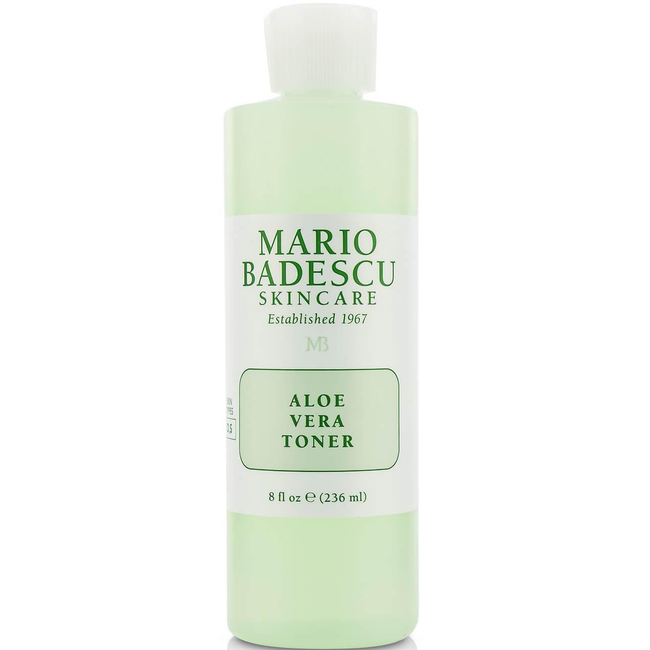 Mario Badescu Scincare Aloe Vera Toner Απαλή Λοσιόν Καθαρισμού Χωρίς Οινόπνευμα Ιδανική για Ευαίσθητες Επιδερμίδες 236ml