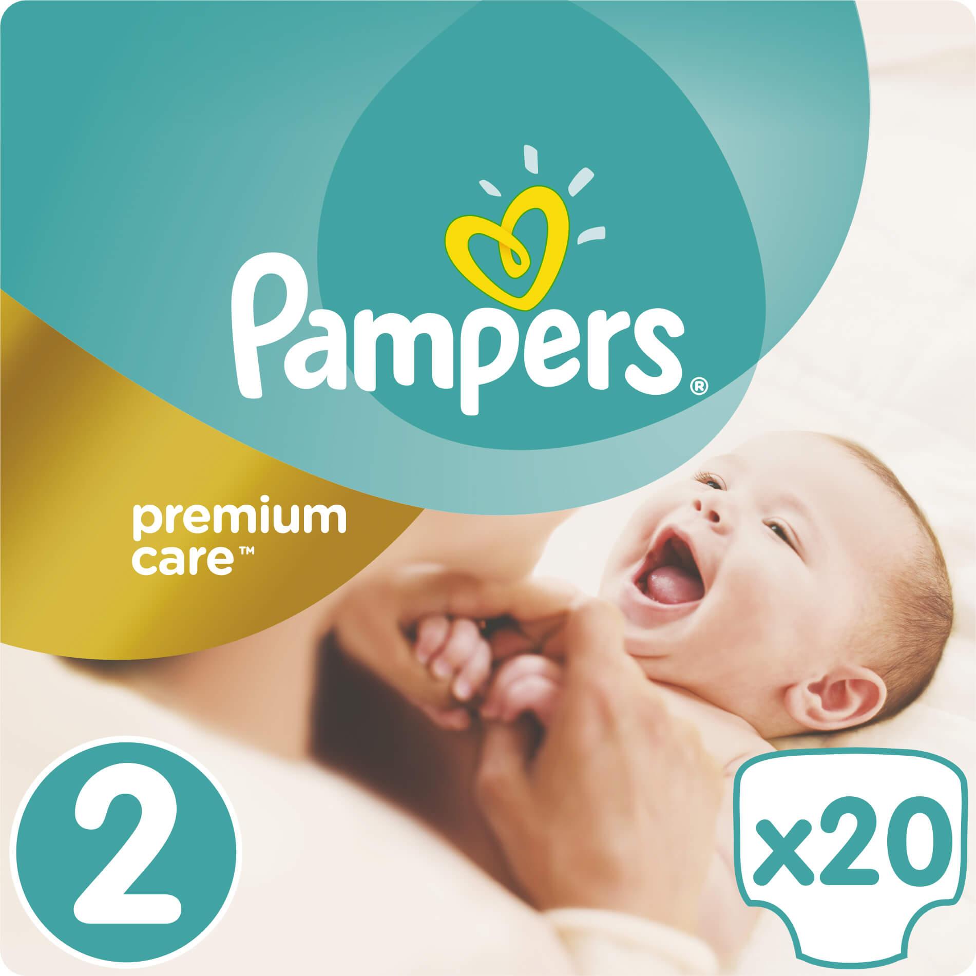 Pampers Premium Care No2 (3-6kg) 20 πάνες μητέρα παιδί   περιποίηση για το μωρό   πάνες για το μωρό
