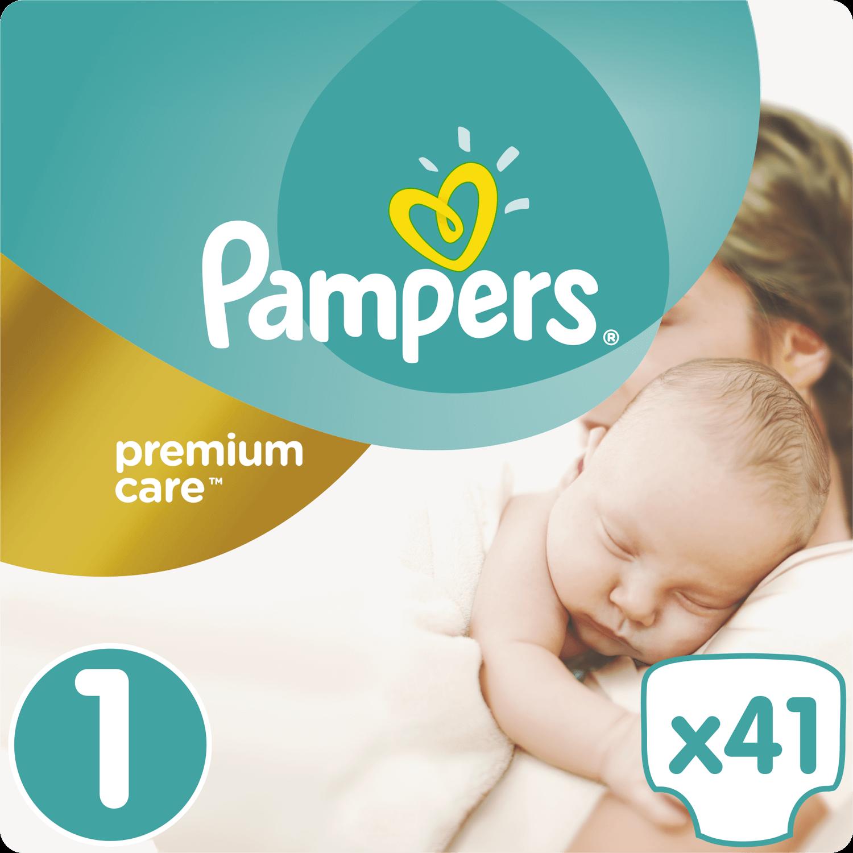 Pampers Premium Care No1 Newborn (2-5kg) 41 πάνες μητέρα παιδί   περιποίηση για το μωρό   πάνες για το μωρό