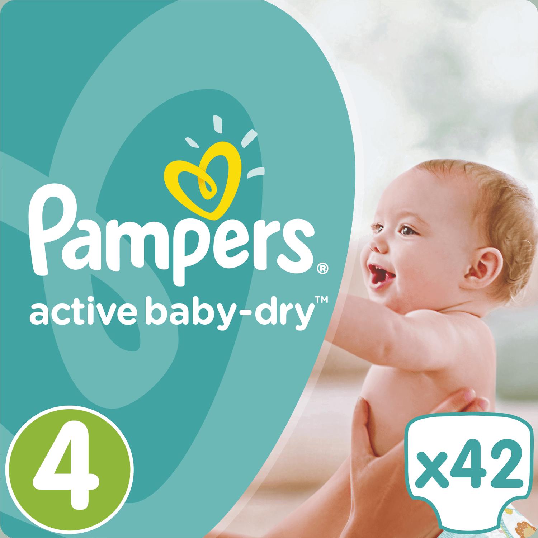 Pampers Active Baby Dry No4 (8-16kg) 42 πάνες μητέρα παιδί   περιποίηση για το μωρό   πάνες για το μωρό