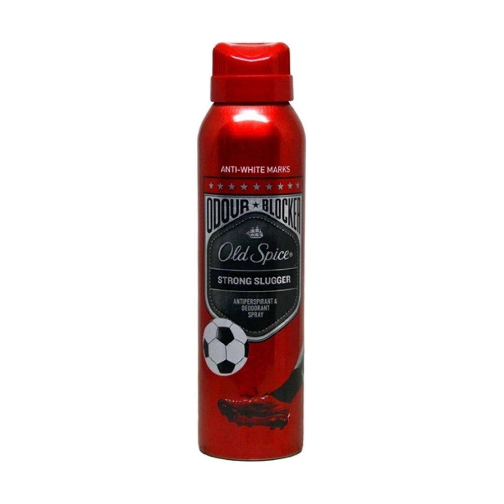 Old Spice Odour Blocker Strong Slugger Antiperspirant & Deodorant Spray Αποσμητικό& Αντιιδρωτικό Σπρέι για 'Άνδρες 150ml.