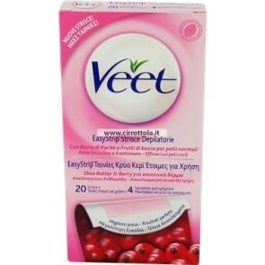 Veet Hair Minimizer Ταινίες Κρύο Κερί Έτοιμες για Χρήση για Κανονικό Δέρμα 20Τμχ υγιεινή   σώμα   αποτρίχωση   ξύρισμα