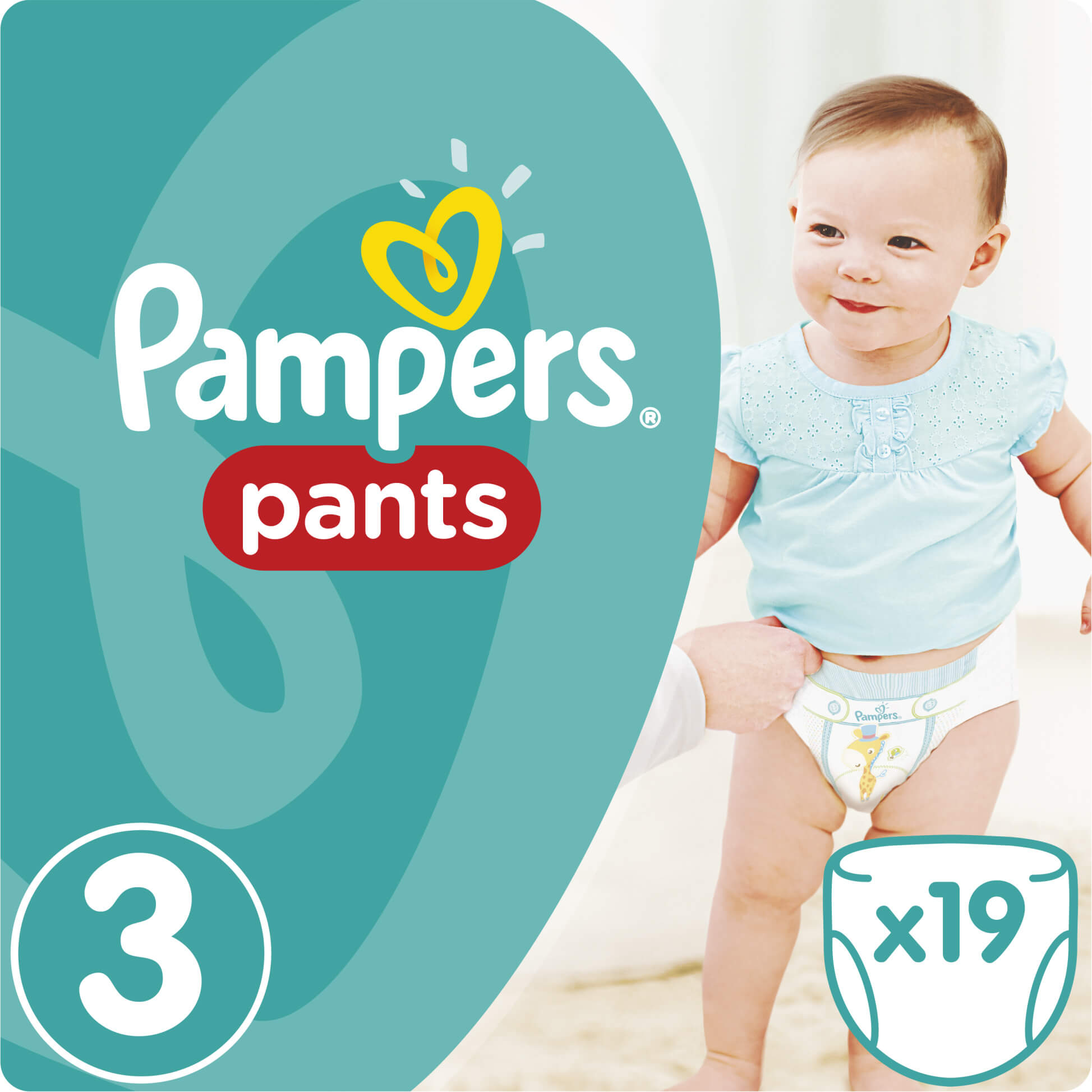 Pampers Pants No3 (6-11kg) 19 πάνες