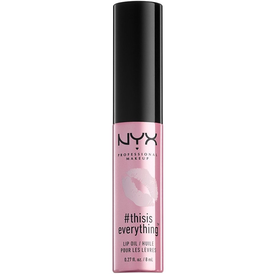 Nyx this is Everything Lip Oil Ελαφρύ Λάδι Χειλιών με Απαλή Μεταξένια Υφή 28gr