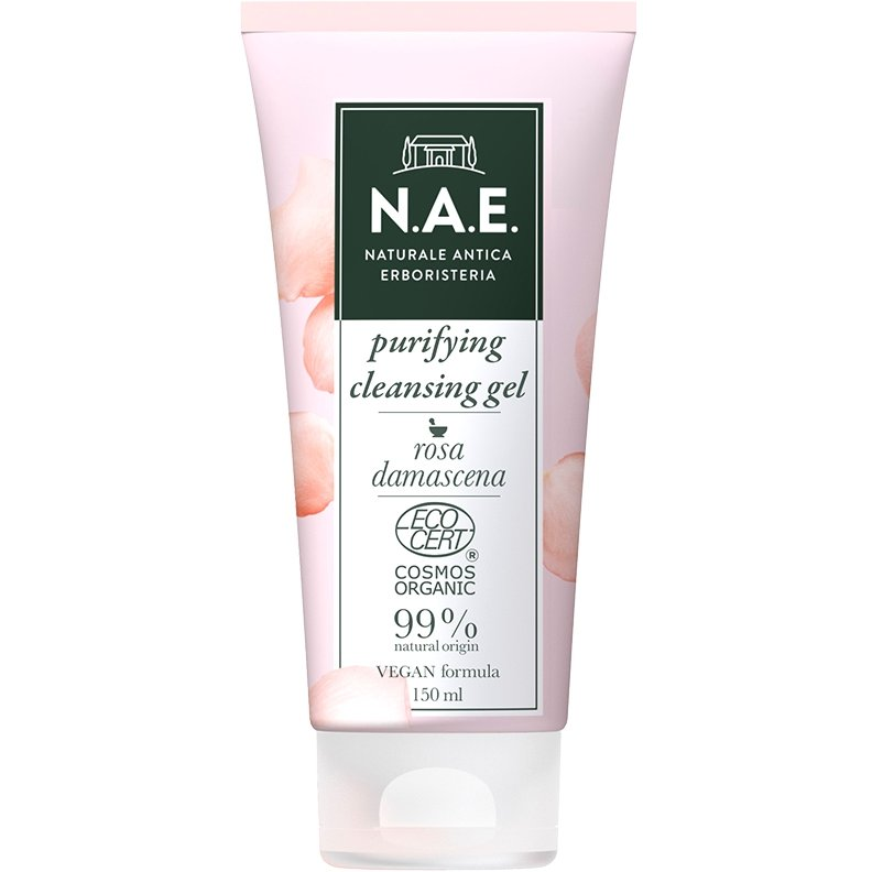 N.A.E. Purezza Purifying Cleansing Gel Τζελ Καθαρισμού 150ml