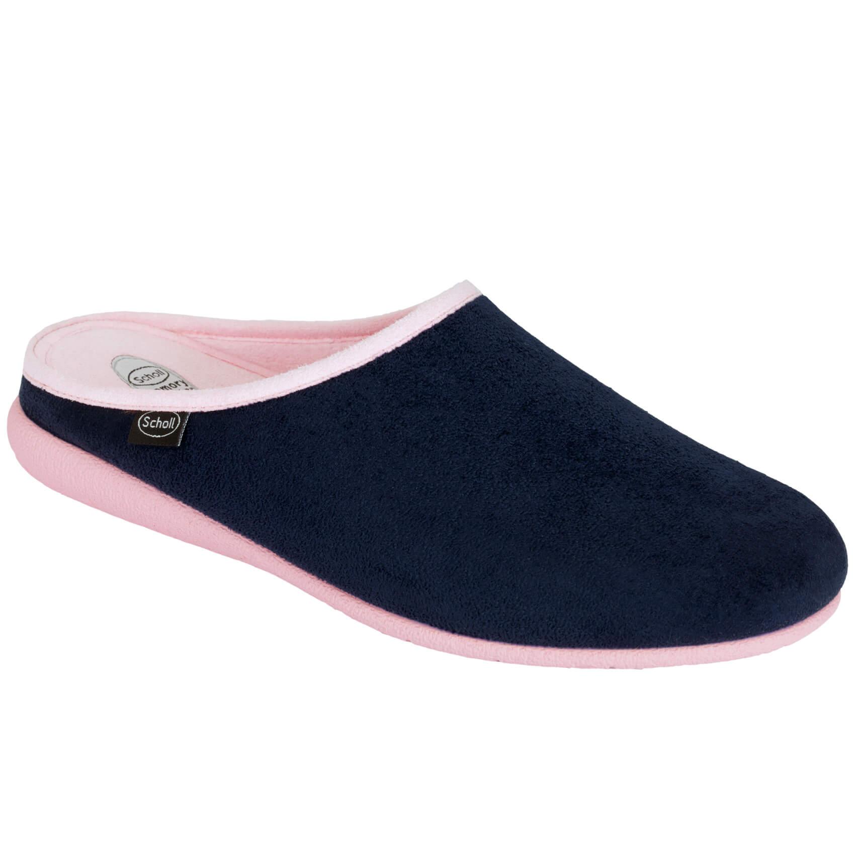 a8a310ea981 Dr Scholl Shoes Chika Μπλε / Ροζ Ανατομικές Παντόφλες Εξαιρετικά Άνετες και  Εύκαμπτες 1 Ζευγάρι –