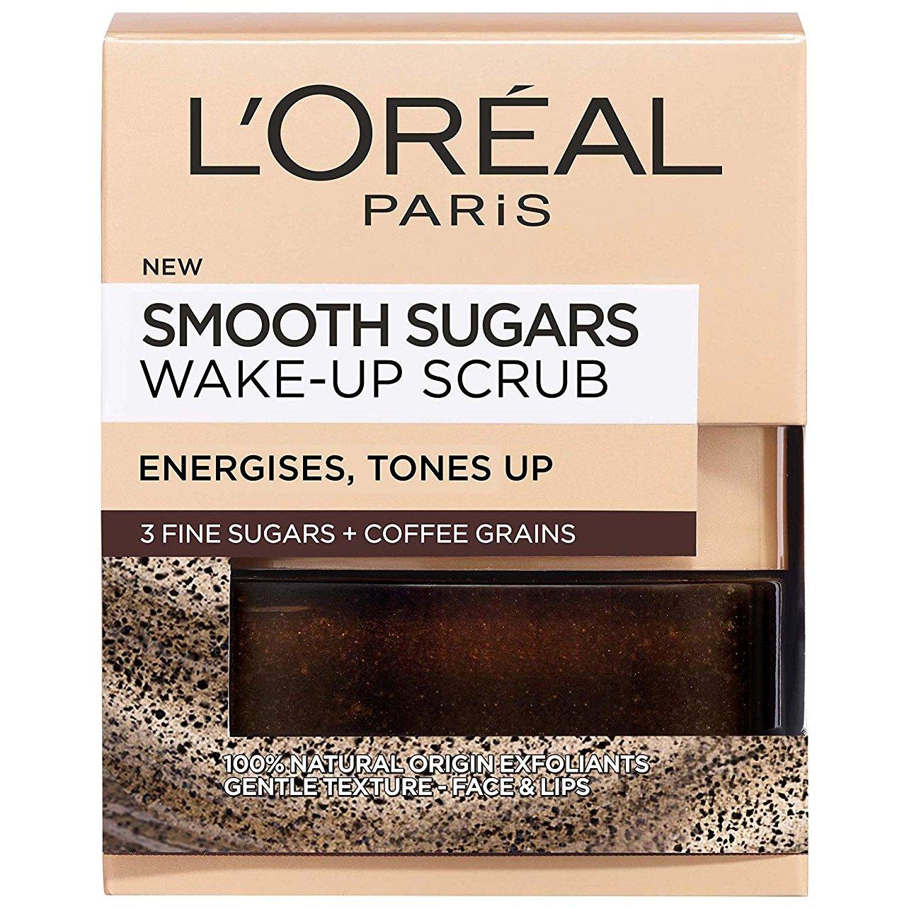 L'oreal Paris Smooth Sugars Wake-Up Scrub για Ξεκούραστη & Φρέσκια Επιδερμίδα 50ml