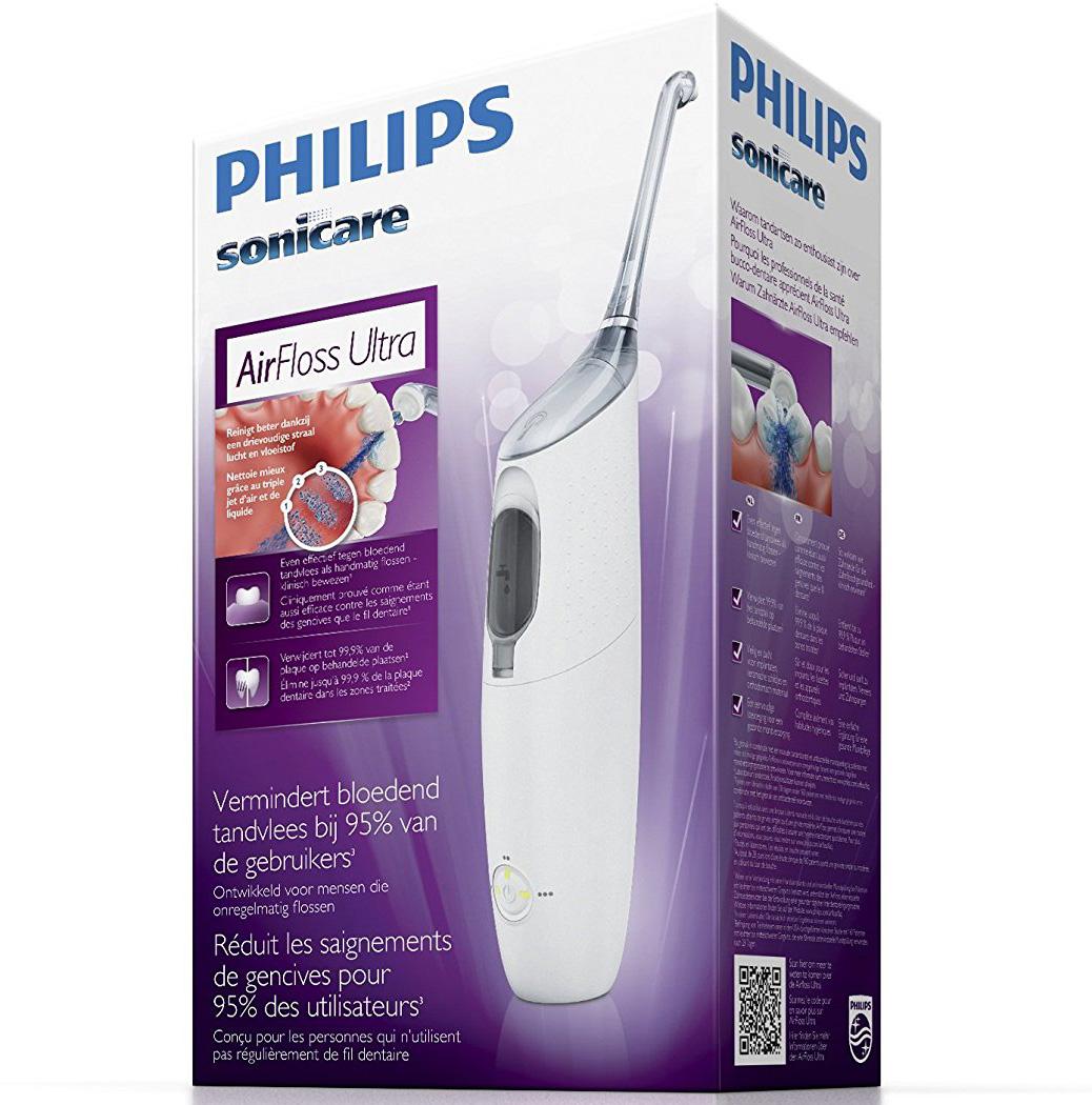 Philips Sonicare Air Floss Ultra Ηλεκτρική Οδοντόβουρτσα γιαπιο Εύκολο &Αποτελεσματικό Καθαρισμό Ανάμεσα στα Δόντια HX8331/01