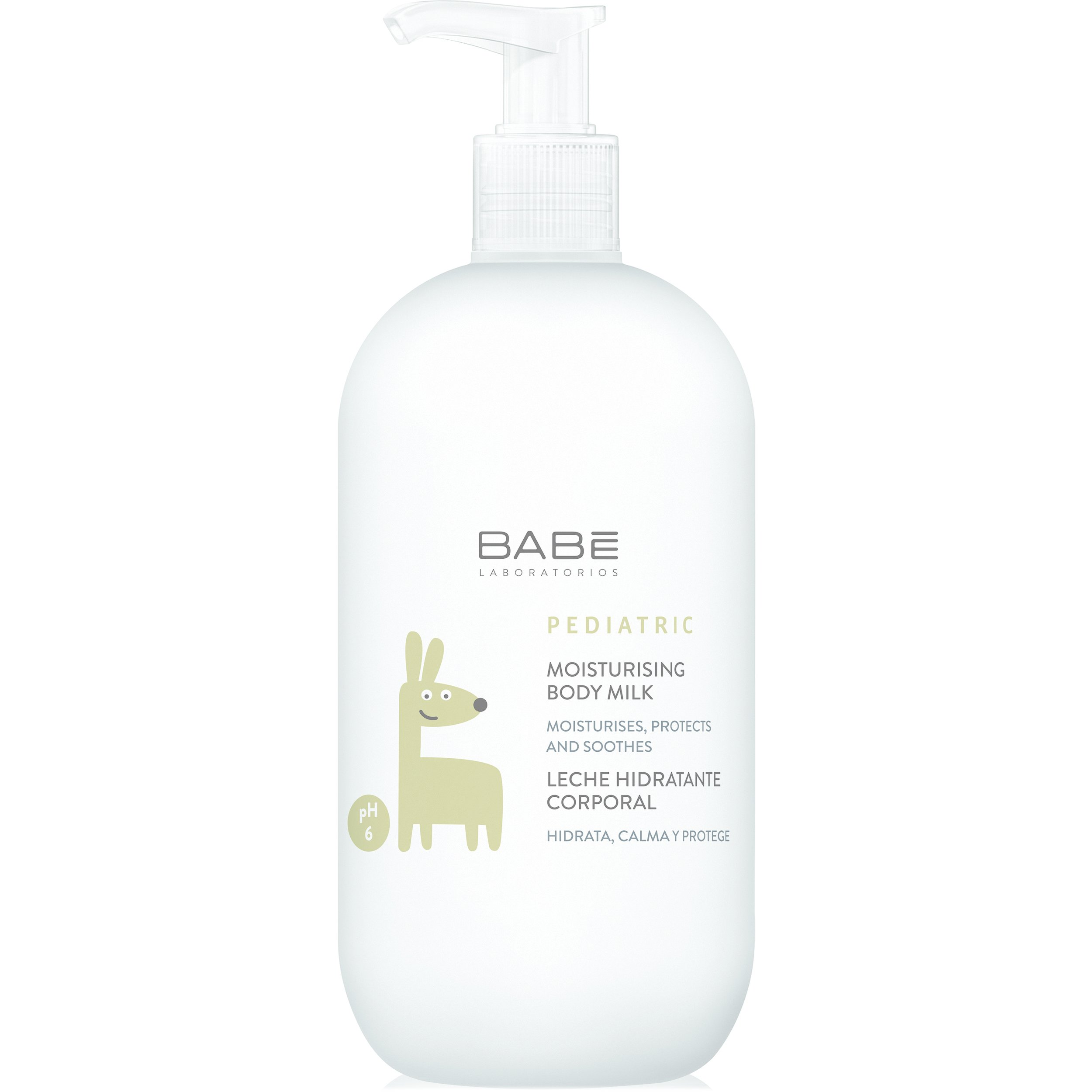 Babe Pediatric Moisturising Body Milk Ενυδατικό Γαλάκτωμα Σώματος για την Ευαίσθητη Βρεφική – Παιδική Επιδερμίδα 500ml