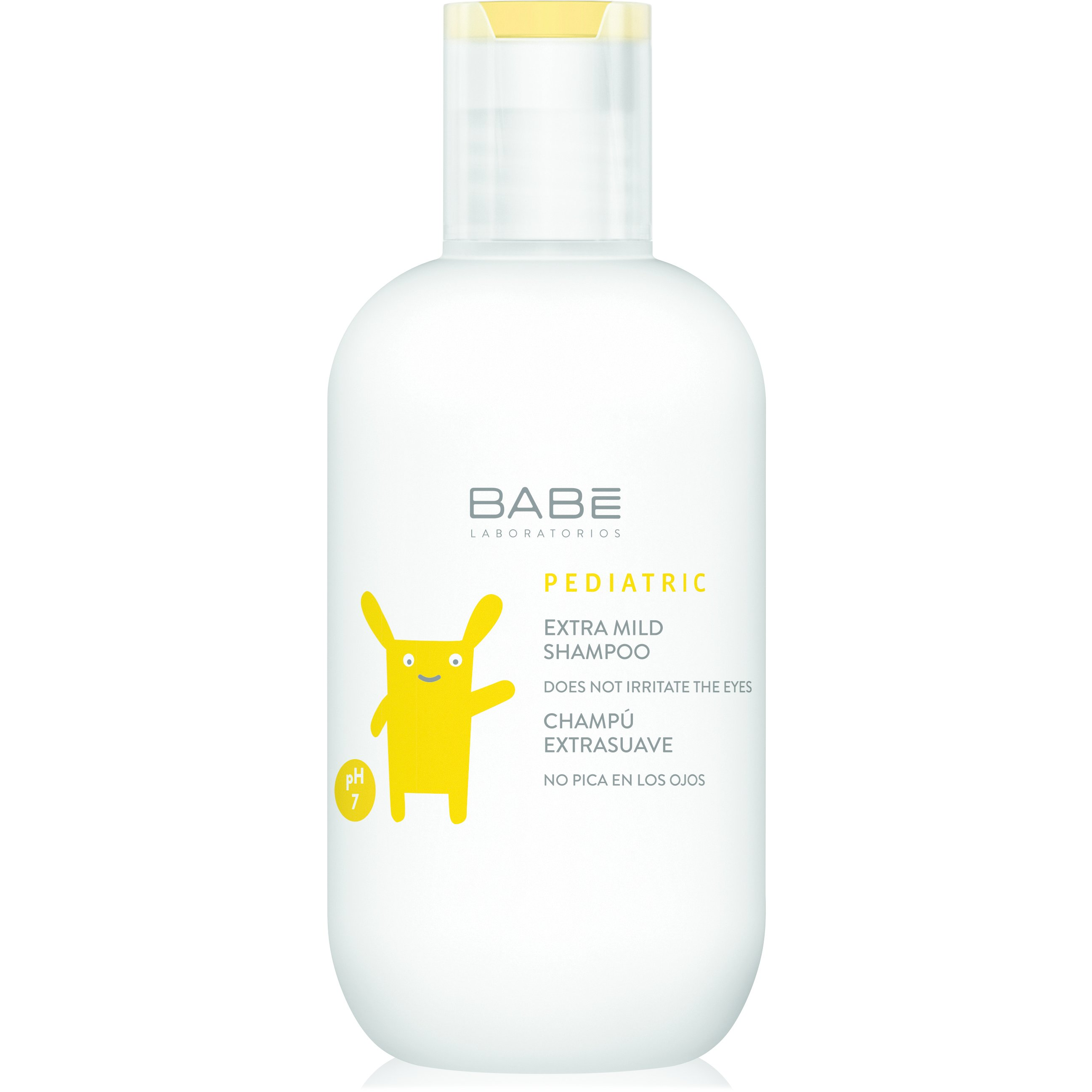 Babe Pediatric Extra Mild Shampoo Ήπιο Σαμπουάν Καθημερινής Χρήσης για Βρέφη 200ml