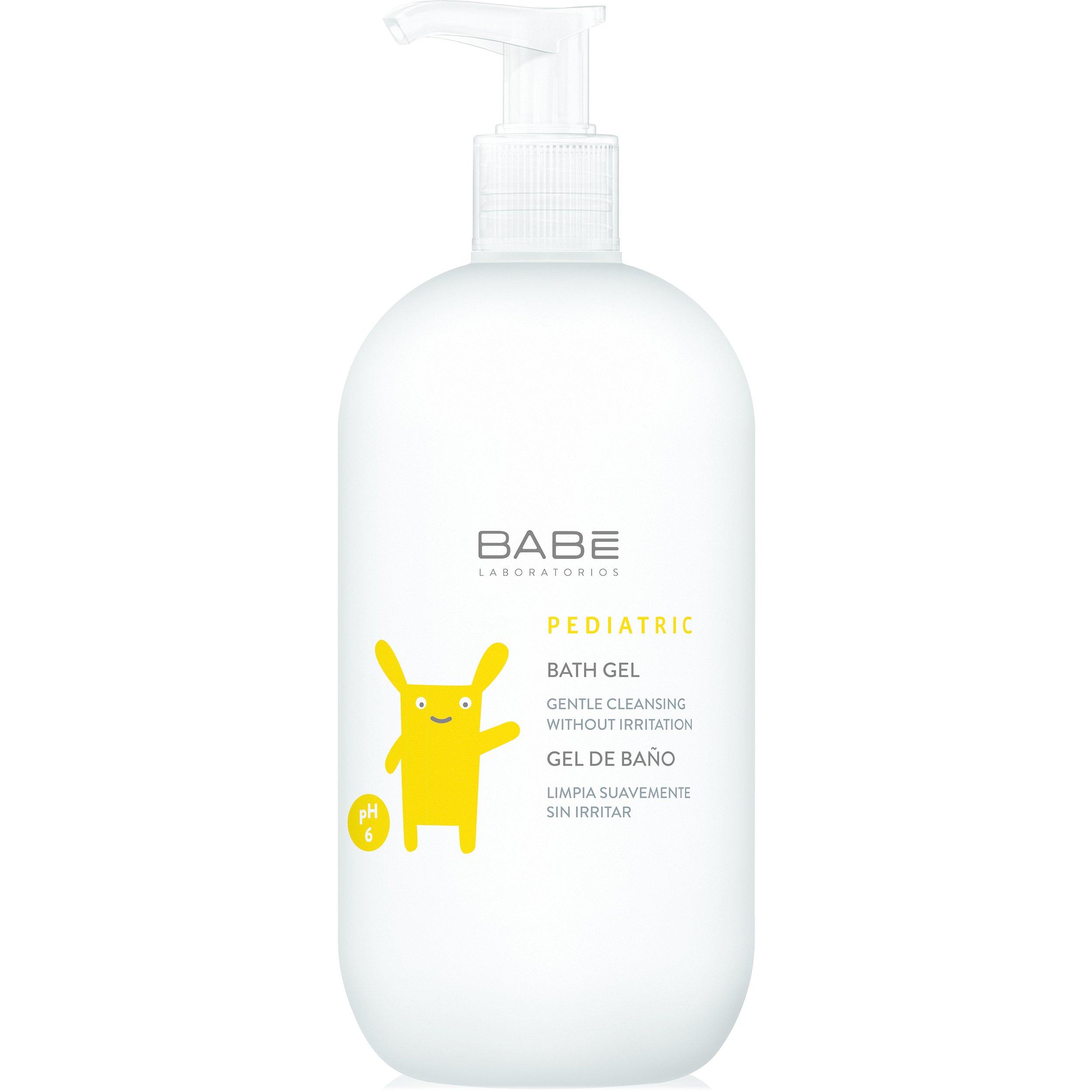 Babe Pediatric Bath Gel Ήπιο Αφρόλουτρο για το Καθαρισμό της Ευαίσθητης Επιδερμί μητέρα παιδί   περιποίηση για το μωρό   αφρόλουτρα για το μωρό