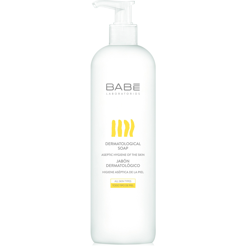 Babe Body Dermatological Soap Δερματολογικό Σαπούνι για την Καθημερινή Υγιεινή του Σώματος, Όλοι οι Τύποι Επιδερμίδας 500ml