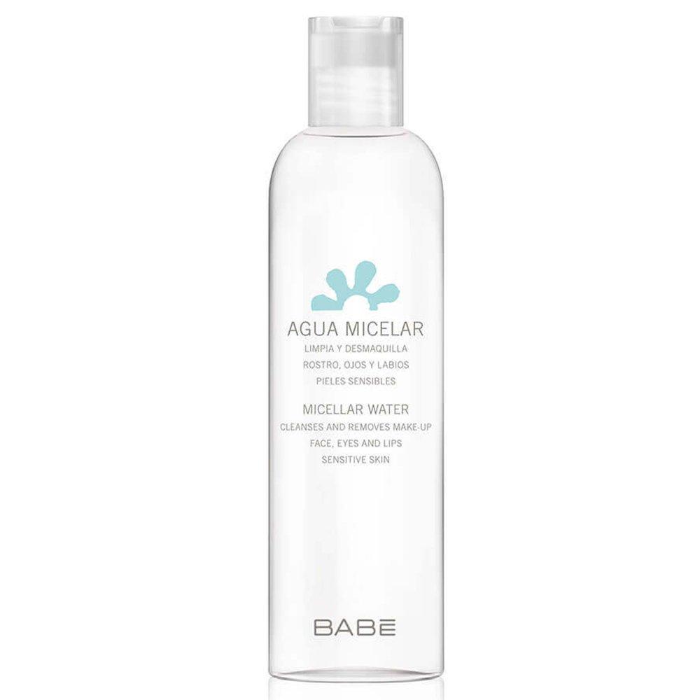 Babe Micellar Water Μικυλλιακό Νερό Καθαρισμού & Ντεμακιγιάζ για Πρόσωπο, Μάτια, Χείλη 250ml