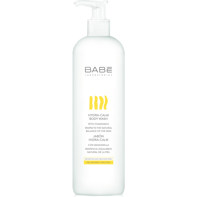 Babe Body Hydra-Calm Wash Απαλό Αφρόλουτρο με Μεταξένια Υφή για την Καθημερινή Υγιεινή της Ευαίσθητης Επιδερμίδας 500ml