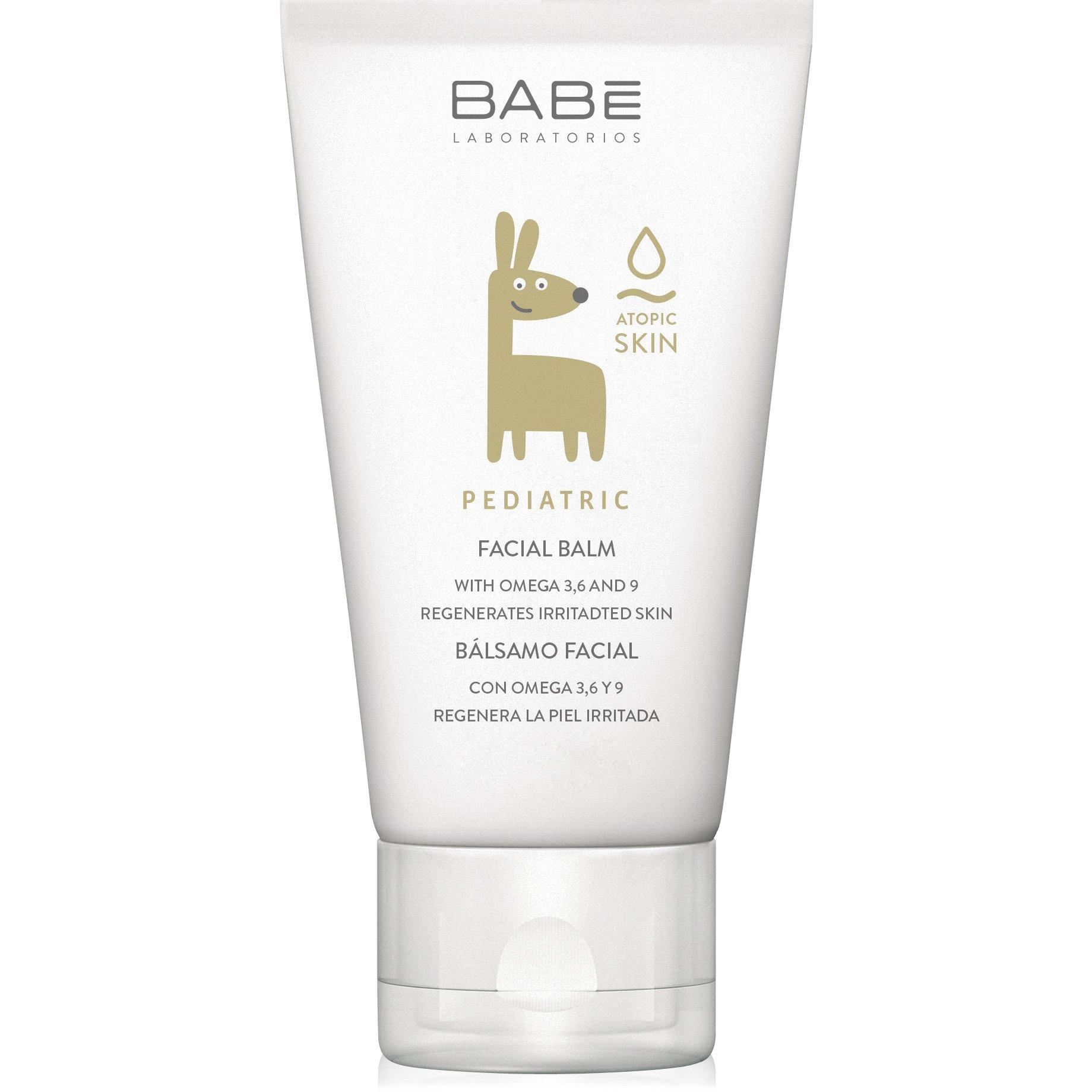 Babe Pediatric Facial Balm Καταπραϋντικό, Ενυδατικό, Κρεμώδες Βάλσαμο Προσώπου για την Βρεφική-Παιδική Επιδερμίδα 50ml