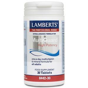 Lamberts Multi-Guard Συμπλήρωμα ΔιατροφήςΥψηλής Περιεκτικότητας σε Μικροθρεπτικά Συστατικά 30tabs