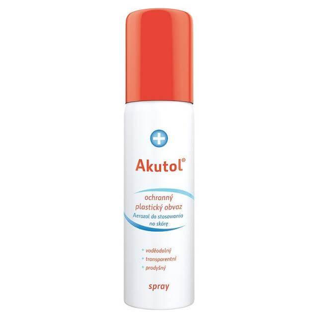 Uplab Akutol Care Spray Αδιάβροχο Πραστατεύτικο Σπρέυ Πληγών60ml