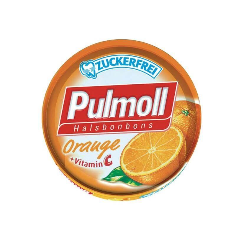 Pulmoll Καραμέλες με Πορτοκάλι + Βιταμίνη C