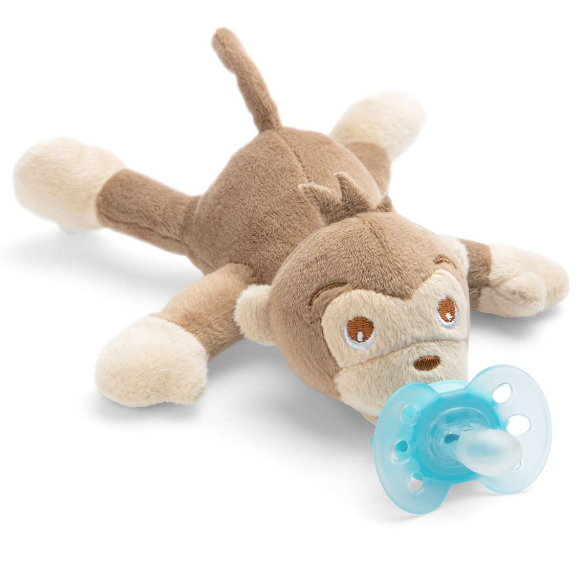 Avent Snuggle Λούτρινο Μαϊμού – Μαλακή Ορθοδοντική Πιπίλα 0-6 Μηνών SCF348/12
