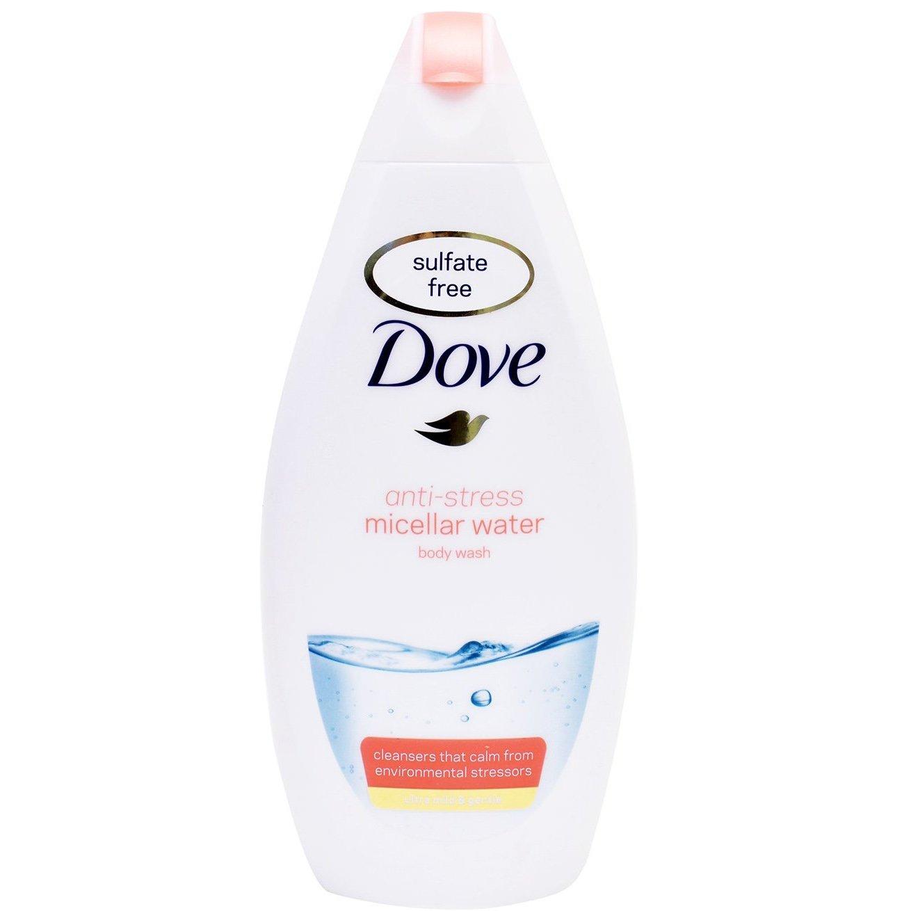 Dove Anti-Stress Micellar Water Body Wash Ήπιο, Απαλό Αφρόλουτρο με Anti-Stress Δράση 500ml