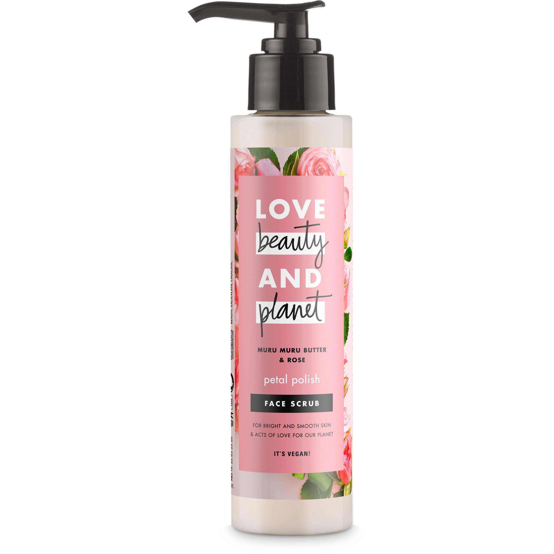 Love Beauty & Planet Muru Muru Butter & Rose Face Scrub Απολέπιση Προσώπου για Λαμπερή & Απαλή Επιδερμίδα 125ml